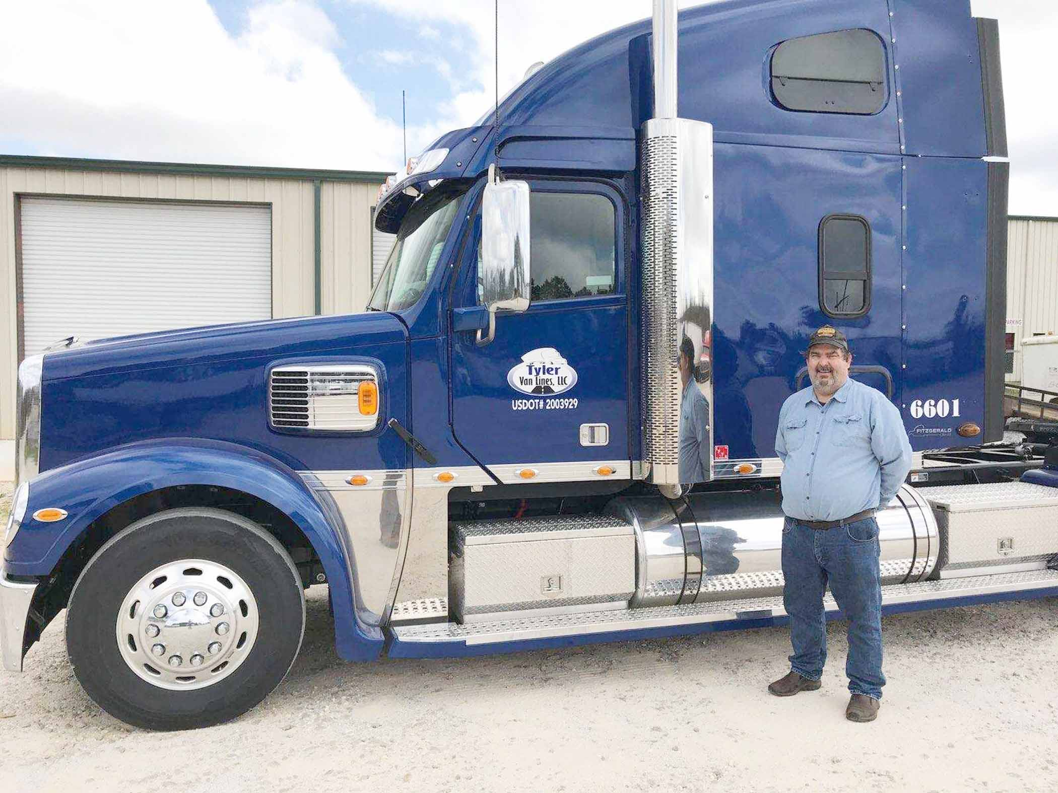best in tow bill wood named tyler transport driver of the year the troy messenger the troy messenger bill wood named tyler transport driver